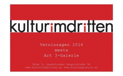 Vorschau Schwerpunkt 2016: WOMEN IN ART