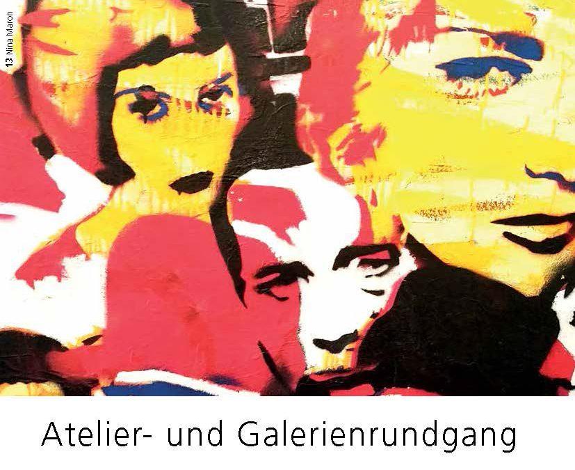 Atelier- und Galerienrundgang 2017