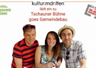 Tschauner Bühne goes Gemeindebau